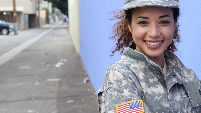 People respond to Christian woman who claimed women in uniform aren't attractive to men.