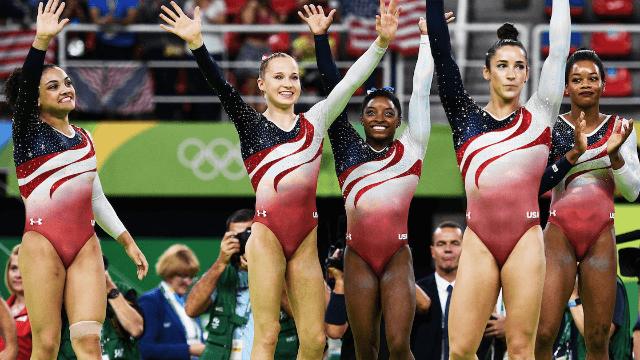 14 U.S. women's gymnastics moments of the Olympics that made me shriek with glee.