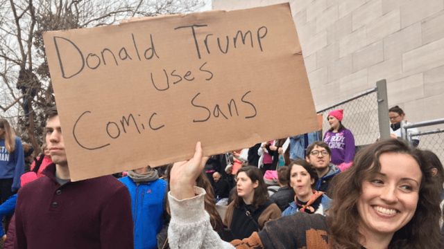 33 of the funniest, sassiest signs from around the world at the Women's March.