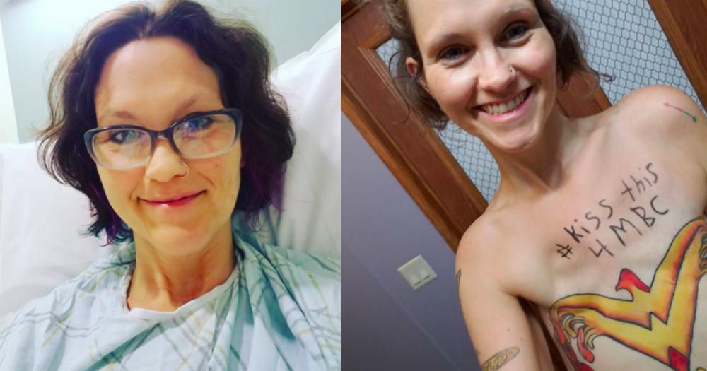 This IRL superhero used a 'Wonder Woman' tattoo to cover up her mastectomy scars.