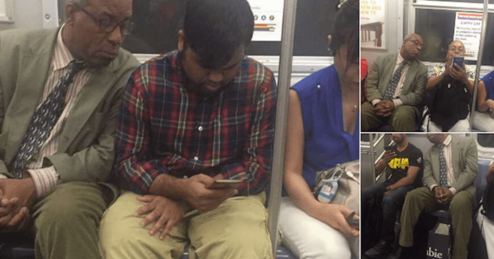 world 39 s nosiest subway rider can 39 t stop looking at literally everyone else 39 s phone someecards. Black Bedroom Furniture Sets. Home Design Ideas