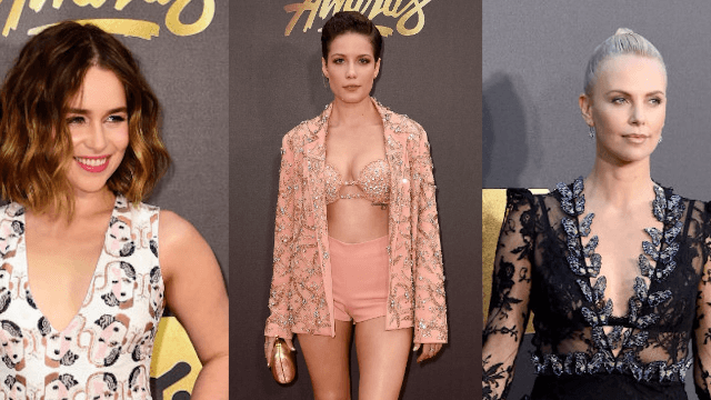 These celebs dressed so poorly at the MTV Movie Awards, it's a good thing they're beautiful.