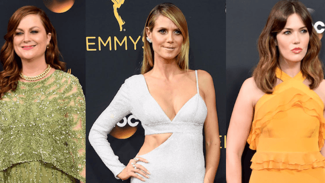 The 10 worst dressed celebrities at the Emmys.
