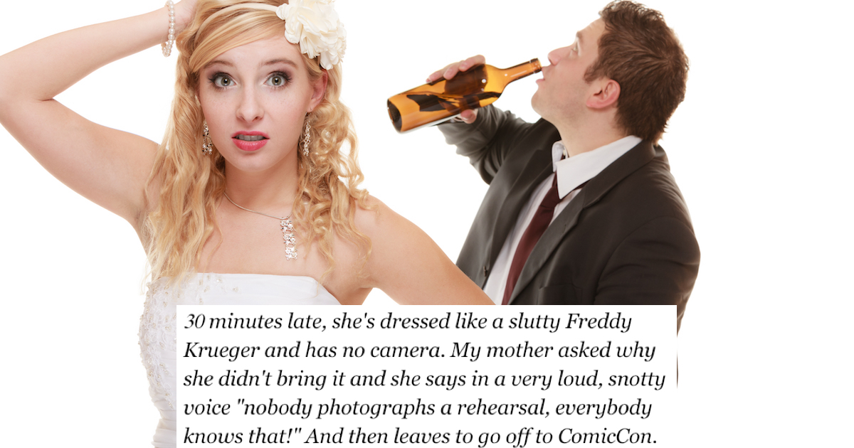 12 people told us their best stories of the worst wedding ...