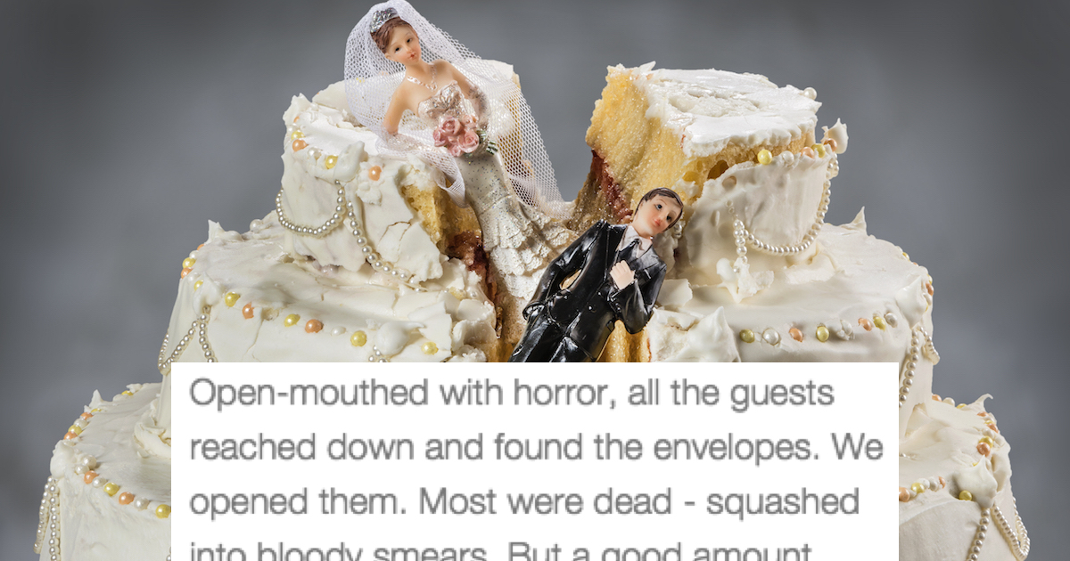 22 Of The Most Horribly Disastrous Weddings Of All Time