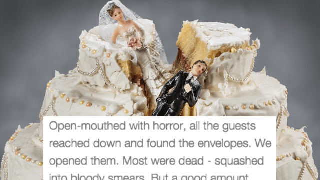 worst wedding cake disaster ever 22 of the most horribly disastrous weddings of all time 27643
