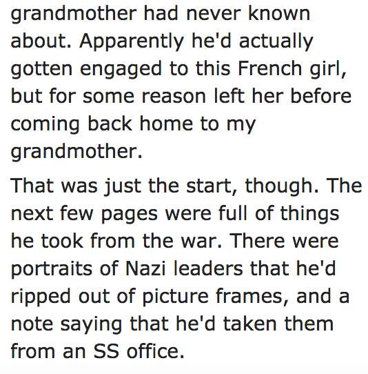 15 people share the most f*cked up stories their grandparents ever told them.