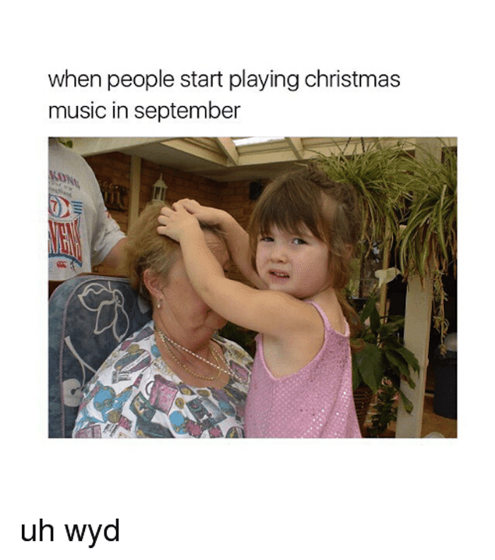 15 memes for people who are already sick of Christmas music ...