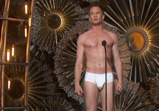 Octavia Spencer's reaction to Neil Patrick Harris in his underwear was hilarious.