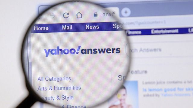 35 of the funniest and dumbest posts from Yahoo Answers.