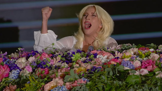 "Yeaaaaah, you're gonna wanna watch this video of Lady Gaga covering ""Imagine."""