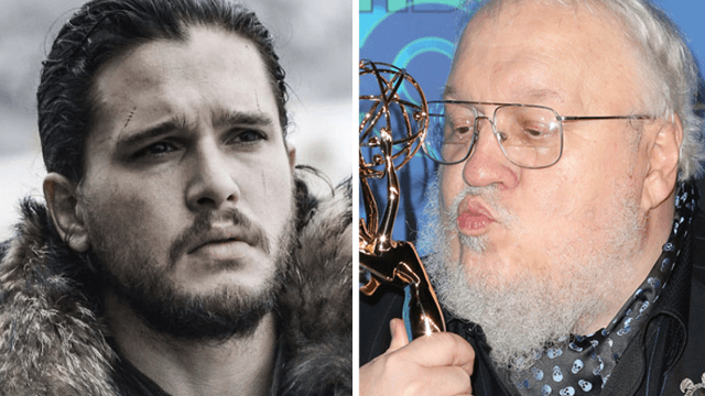 The internet says a photo of young George R.R. Martin is why Jon Snow will never die.