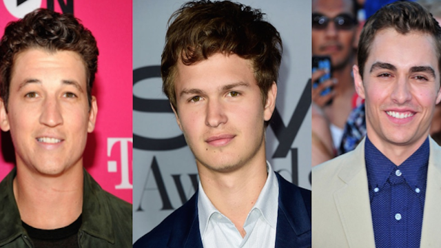 These hot guys are in the running to play young Han Solo. Never tell them the odds of getting the part.