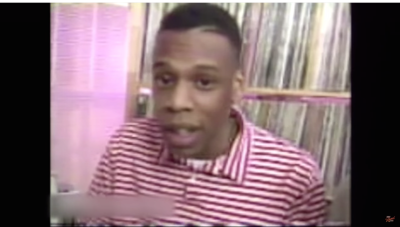 Watch a young Jay-Z rap and the old Jay-Z react on 'Kimmel.'