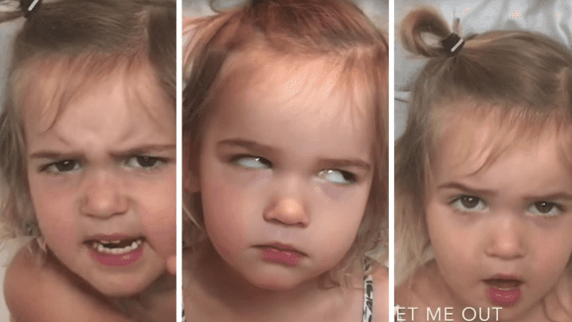 Two-year-old YouTuber makes ranting about airport security funny again.