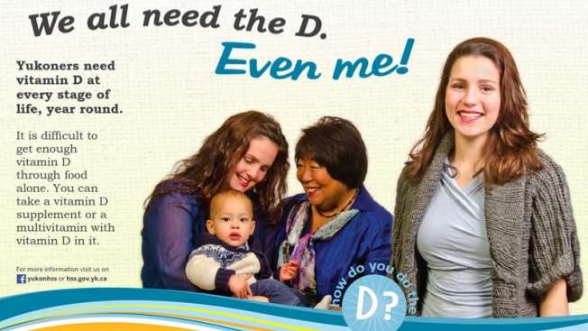 There wouldn't be the baby without the D.