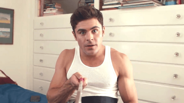Zac Efron is obsessed with his selfie stick, and you'll be obsessed with his obsession.