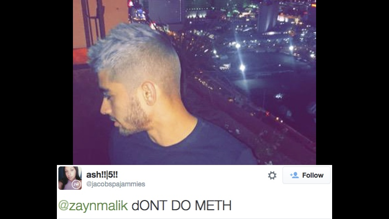 Zayn Malik's confusing tweet about meth is the second worst decision he's made recently.