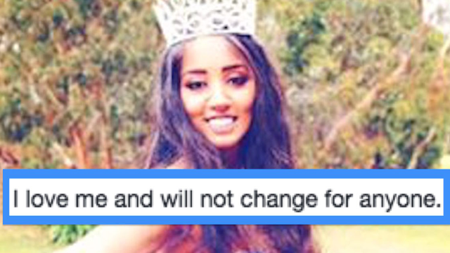 Beauty queen told to 'lose weight' decides to lose her crown instead.