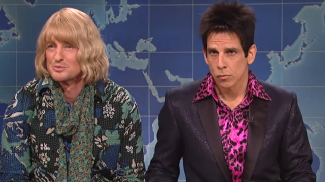 Derek Zoolander and Hansel stopped by 'SNL' to talk politics and Donald Trump's modeling faces.