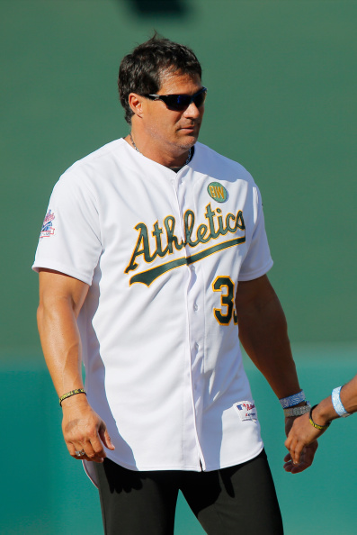 Jose Canseco blew his middle finger off while cleaning his shotgun.