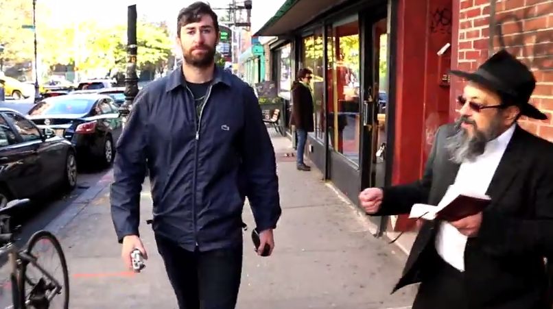 And now here's '10 Hours of Walking in NYC as a Jew.'