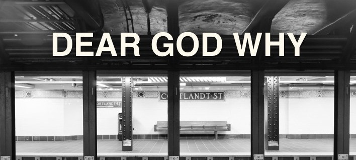 Here it is. The worst thing we've ever seen on a New York City subway.