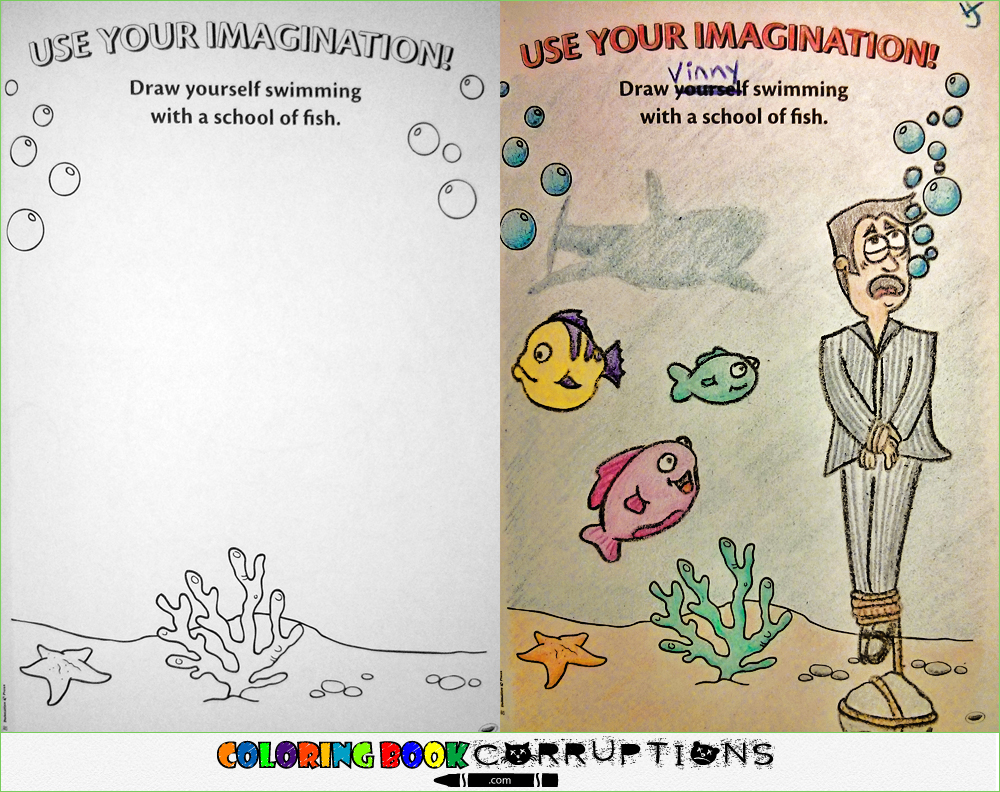 Coloring Book Corruptions Is The Best And Worst Thing To Ever Happen Children S Books