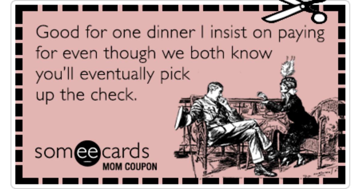 Dinner ecards