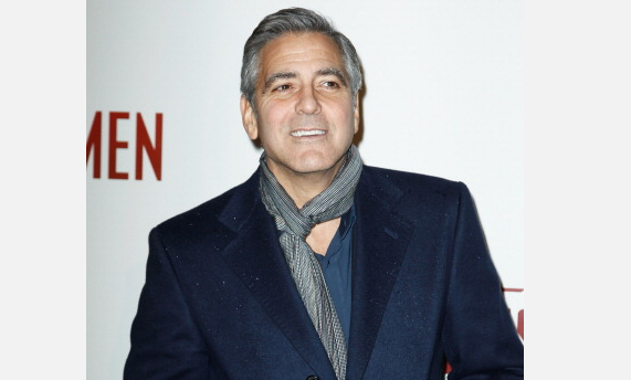 George Clooney once put a picture of his penis on Roseanne's refrigerator.