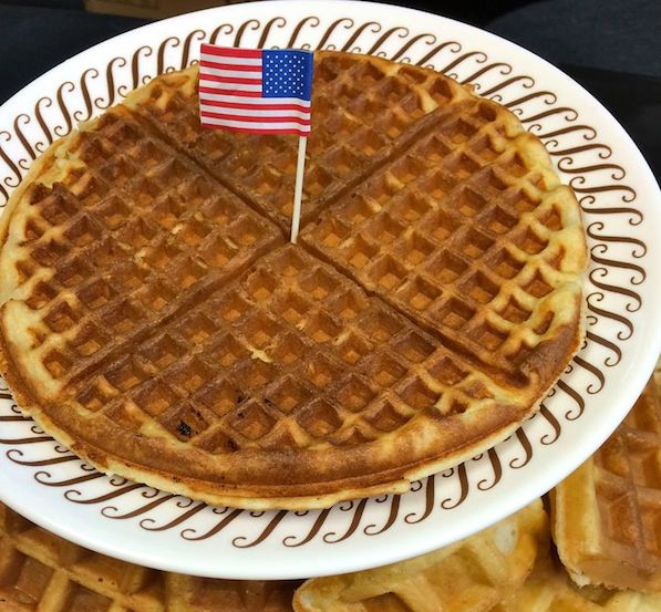 Waffle House is serving up Twitter trash talk to Belgian waffles for today's World Cup match.