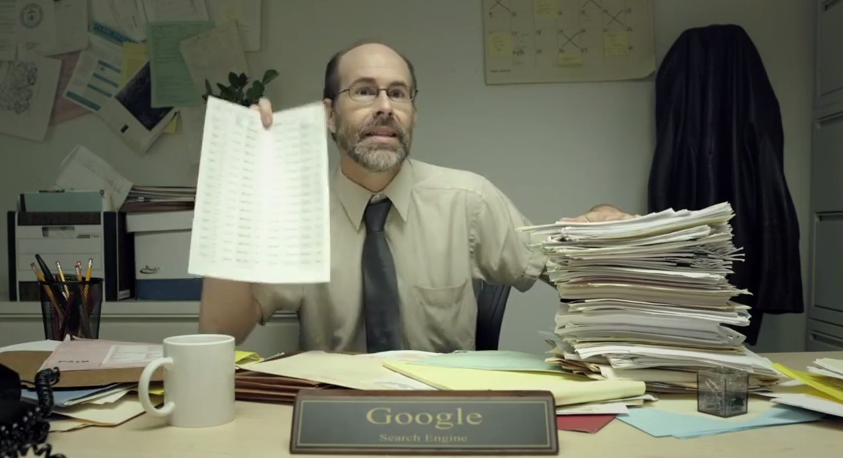 If Google was just a guy who looked up your stuff, the saga continues.
