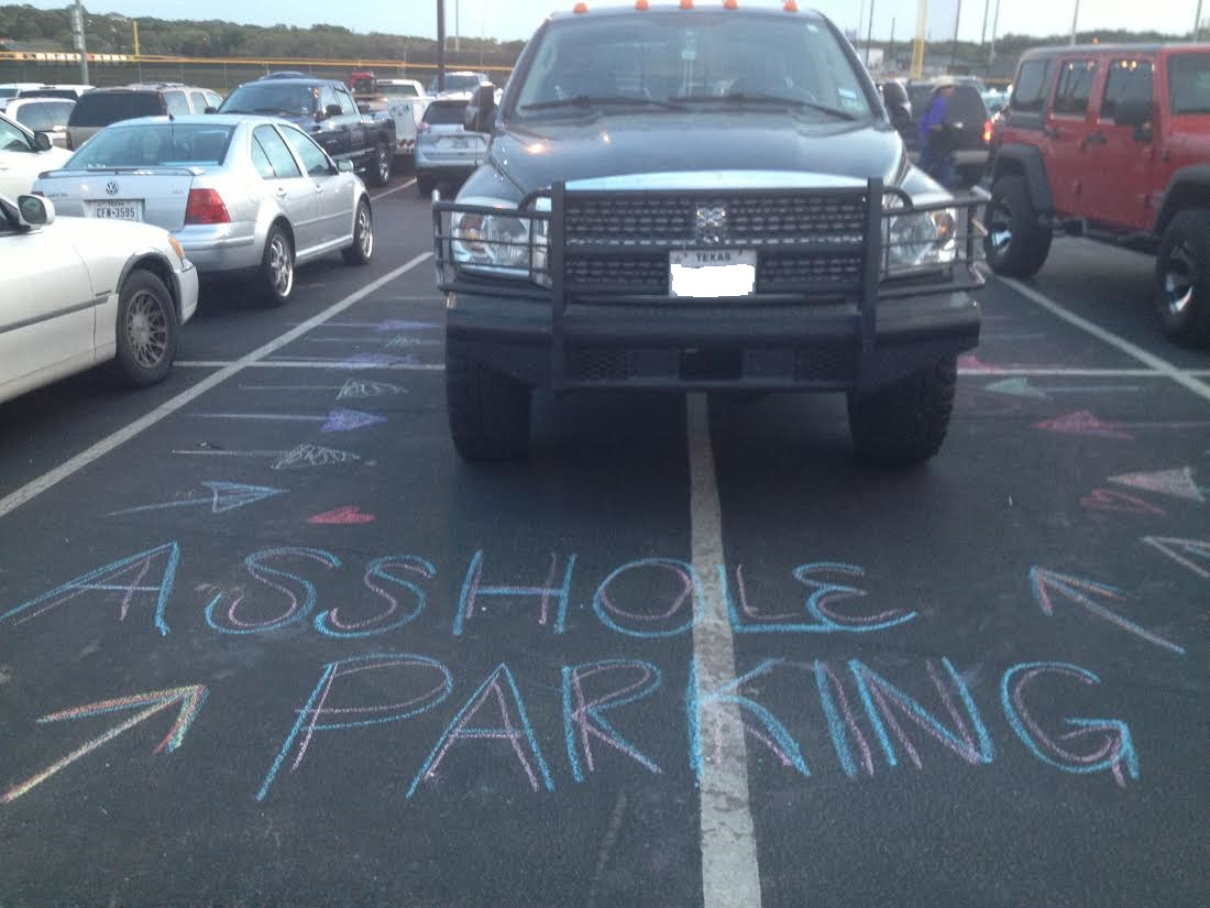 17 people who got brilliantly shamed for parking like an ahole.