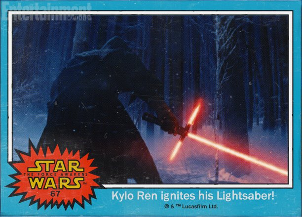 Some new 'Star Wars' character names were  just revealed on vintage-style trading cards.