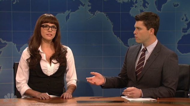 "SNL's ""One-dimensional Female Character In A Male Driven Comedy"" was the highlight of last week's episode."