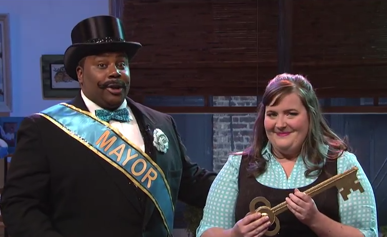 'SNL' discovers what happens when you reach 10,000 tweets.
