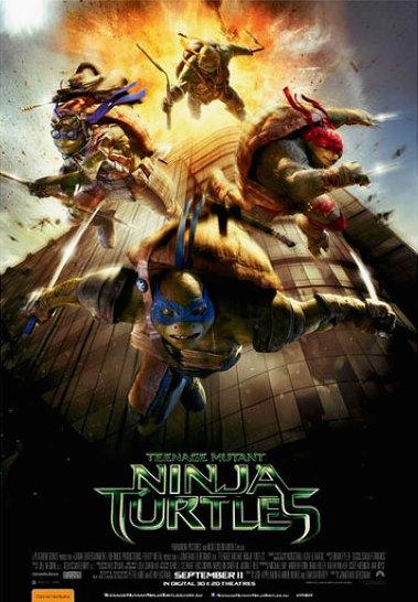Teenage Mutant Ninja Turtles poster accidentally recreates 9/11.