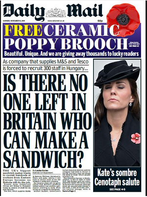 A really weird newspaper headline has people on Twitter posting hilarious pics of sandwiches.