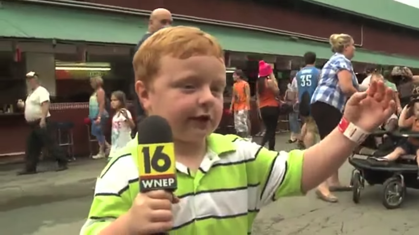 "That ""apparently"" kid has been remixed into a hit song after stealing the Internet's heart."