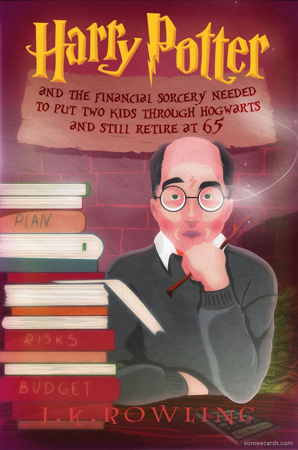 Other Middle-Aged Harry Potter Books J.K. Rowling Has Planned