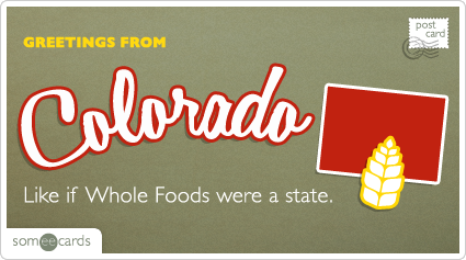 Like if Whole Foods were a state.