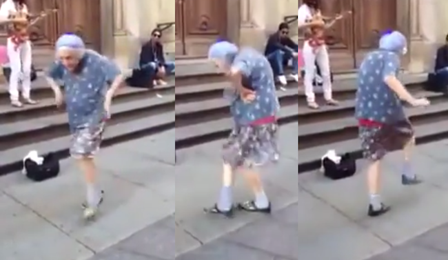 This dancing 97-year-old woman proves you're never too old to get down.