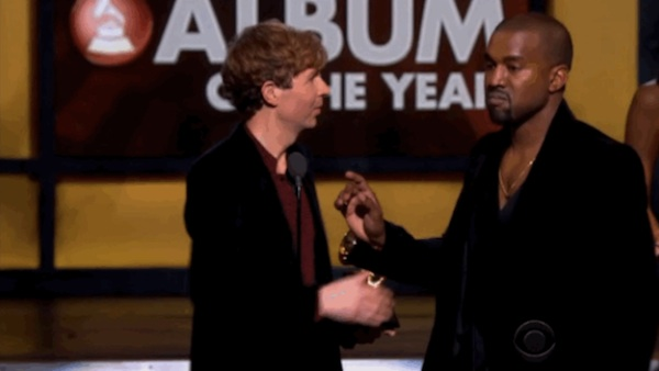 As usual, Kanye managed to make the Grammys all about him last night.