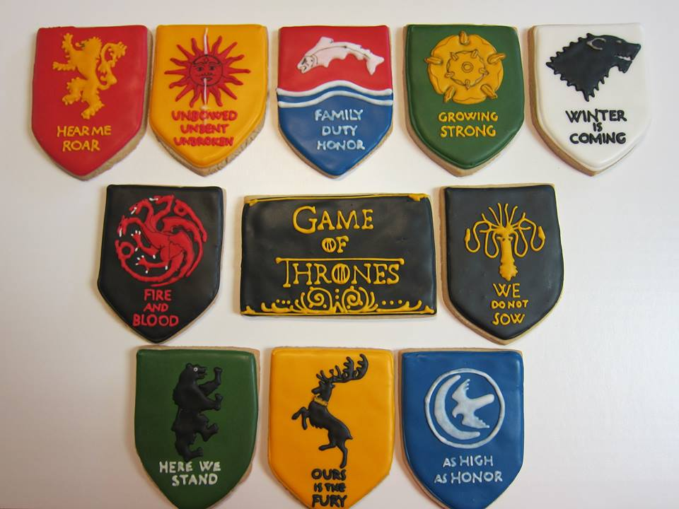 These amazing 'Game of Thrones' cookies are what you were missing to make your viewing party perfect.
