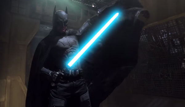 Could Batman beat Darth Vader in a fight? Find out in this impressive fan-made video.