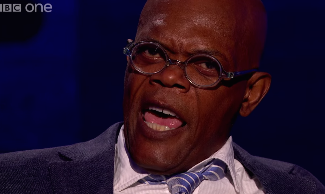 Samuel L. Jackson recites his famous 'Pulp Fiction' speech from memory to terrify an imaginary 17-year-old boy.