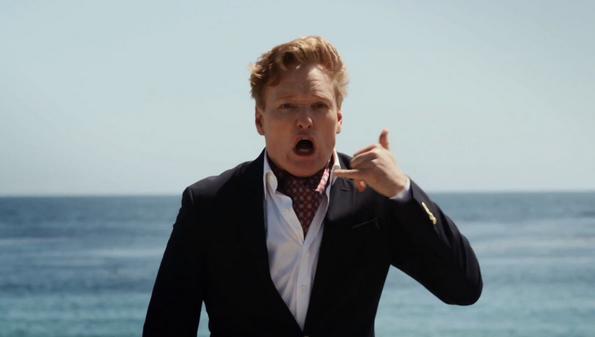Conan O'Brien's performance in 'Sharktopus vs. Pteracuda' should win him an Emmy.