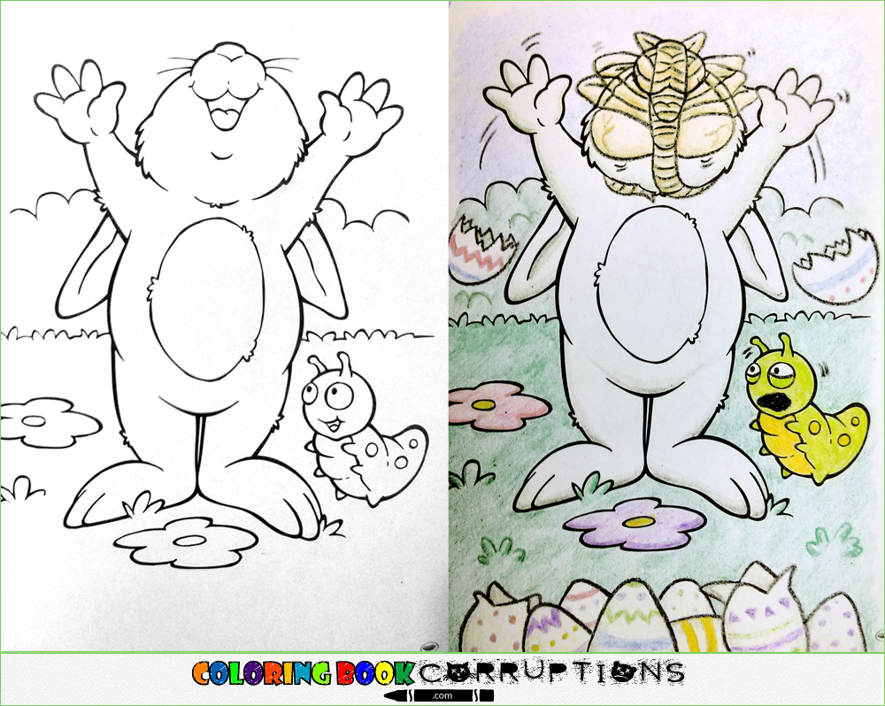 Coloring Book Corruptions Is The Best And Worst Thing To Ever Happen Childrens