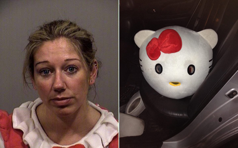 Hello Kitty arrested for drunk driving,