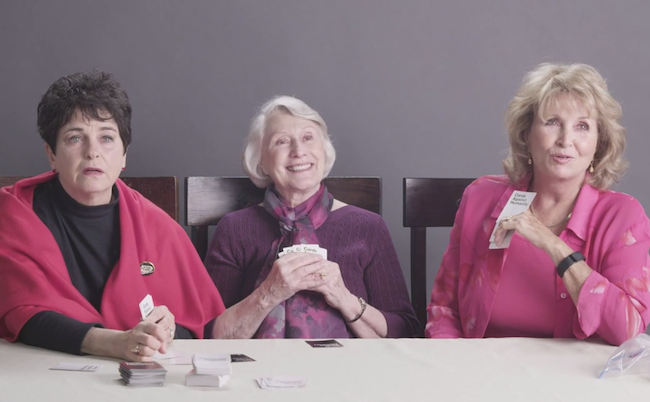 These 3 grandmas smoke weed for the first time, and they're pretty stoked.